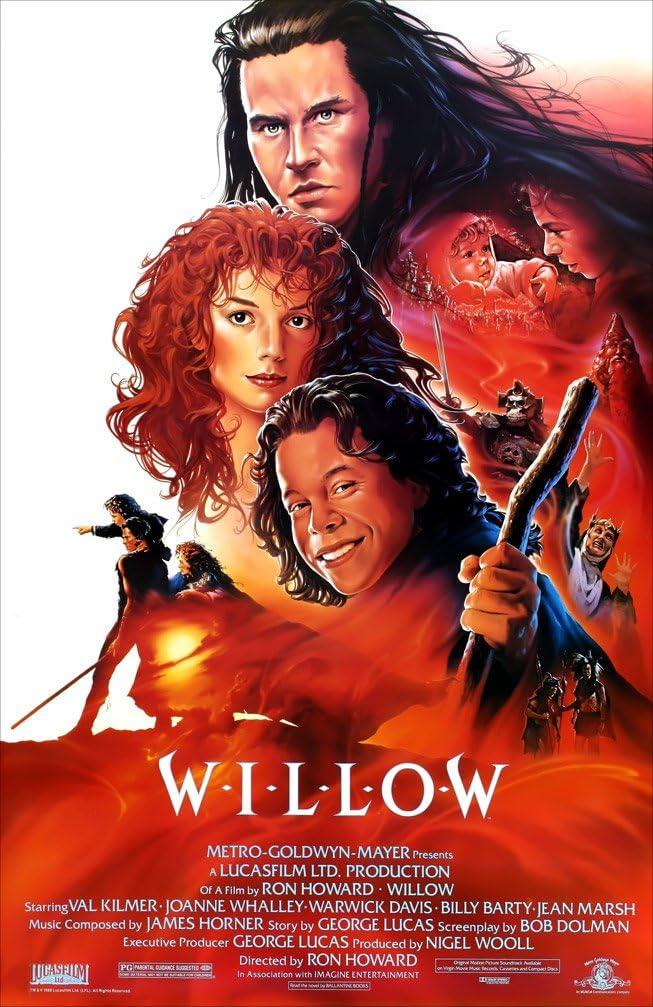 "Amazon.com: Willow - 11""x17"" (27.94 x 43.18 cm) Movie Poster: Posters & Prints"