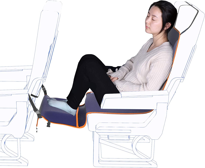 Travel Bread Airplane Footrest Hammock