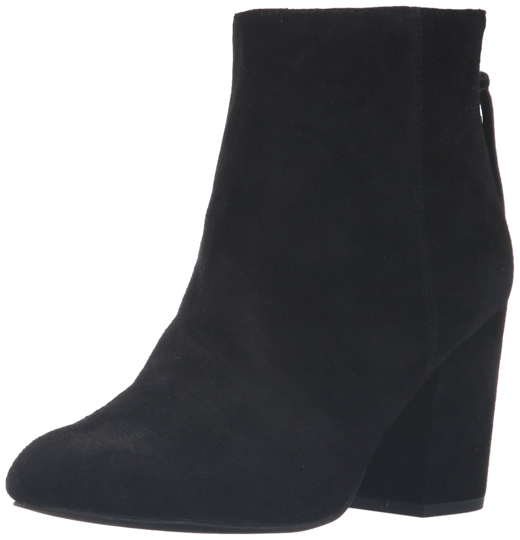 Steve Madden Women's Cynthia Ankle Bootie B01DBQ1DFK 9.5 B(M) US Black Suede
