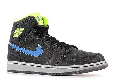 b795b128ec72 Jordan Nike Air 1 Retro High BHM Black History Month Mens Basketball Shoes  579591-012