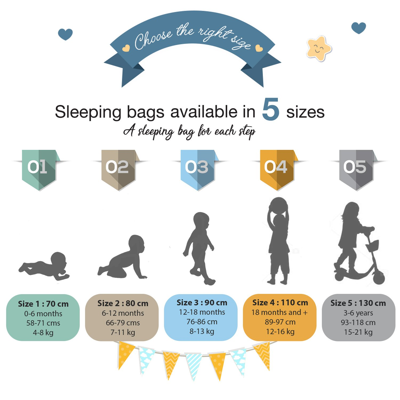 Baby Schlafsäcke, Größe 130cm (3-6 Jahre), Biobaumwolle, Chemikalienfrei, Sweety Fox, Fox, Fox, Grau Baby Stars B07B9YLBFJ Schlafscke 11c0f5