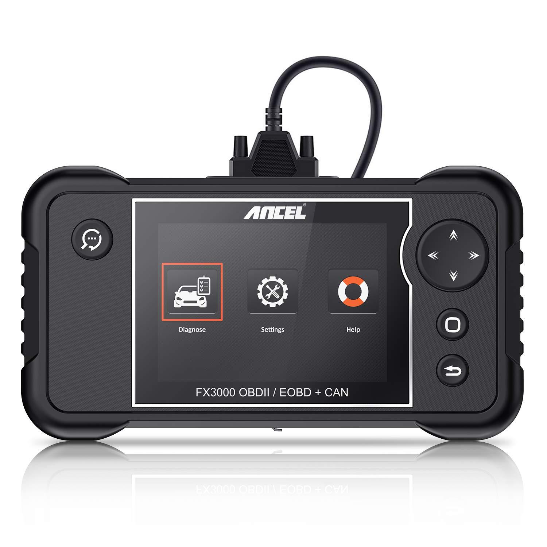 ANCEL FX3000 Automotive OBD2 Scanner Vehicle Check Engine Transmission SRS ABS Code Reader Car EPB Oil Service Light SAS ABS BMS Reset Diagnostic Scan Tool