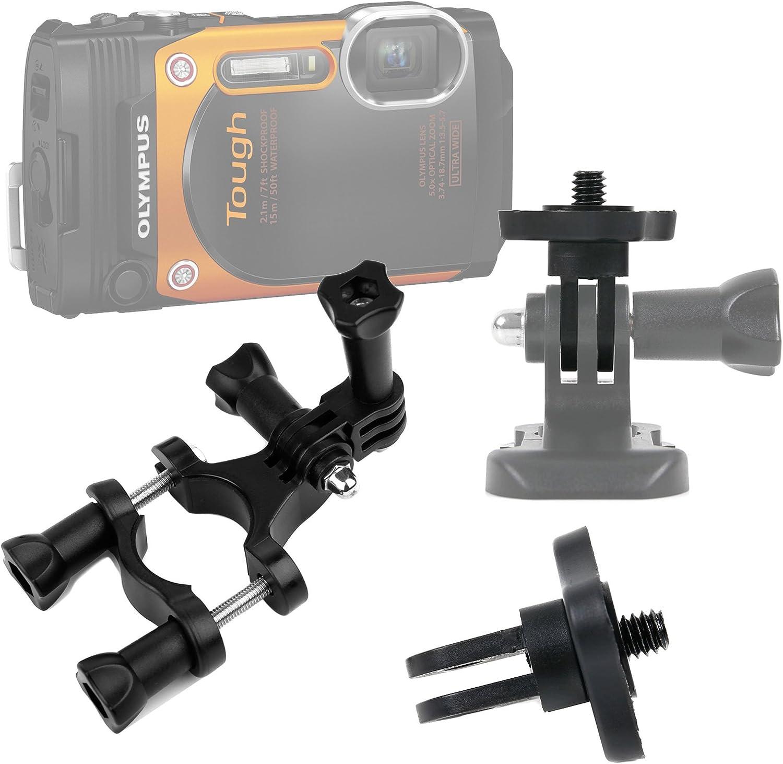 Clip De Montaje Abrazadera en Cámara Mochila Deporte montaje de cámara para GoPro Hero Cámara Tg