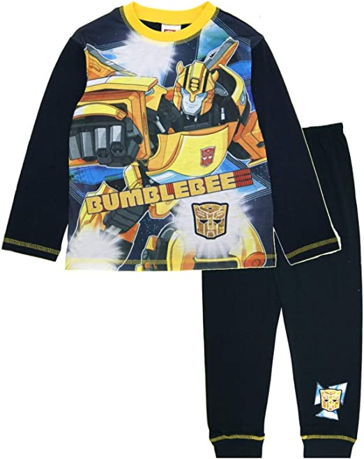 Transformers Boy/'s Pajamas Set 9-10 Years Long Sleeve With Pants NEW