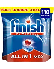 Finish Todo en 1 Max Regular Pastillas para Lavavajillas - 110 Pastillas