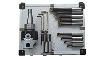 Ausdrehkopf Set 50 mm MK 2 M 10 inkl Bohrkopf Aufbewahrungskoffer NEU