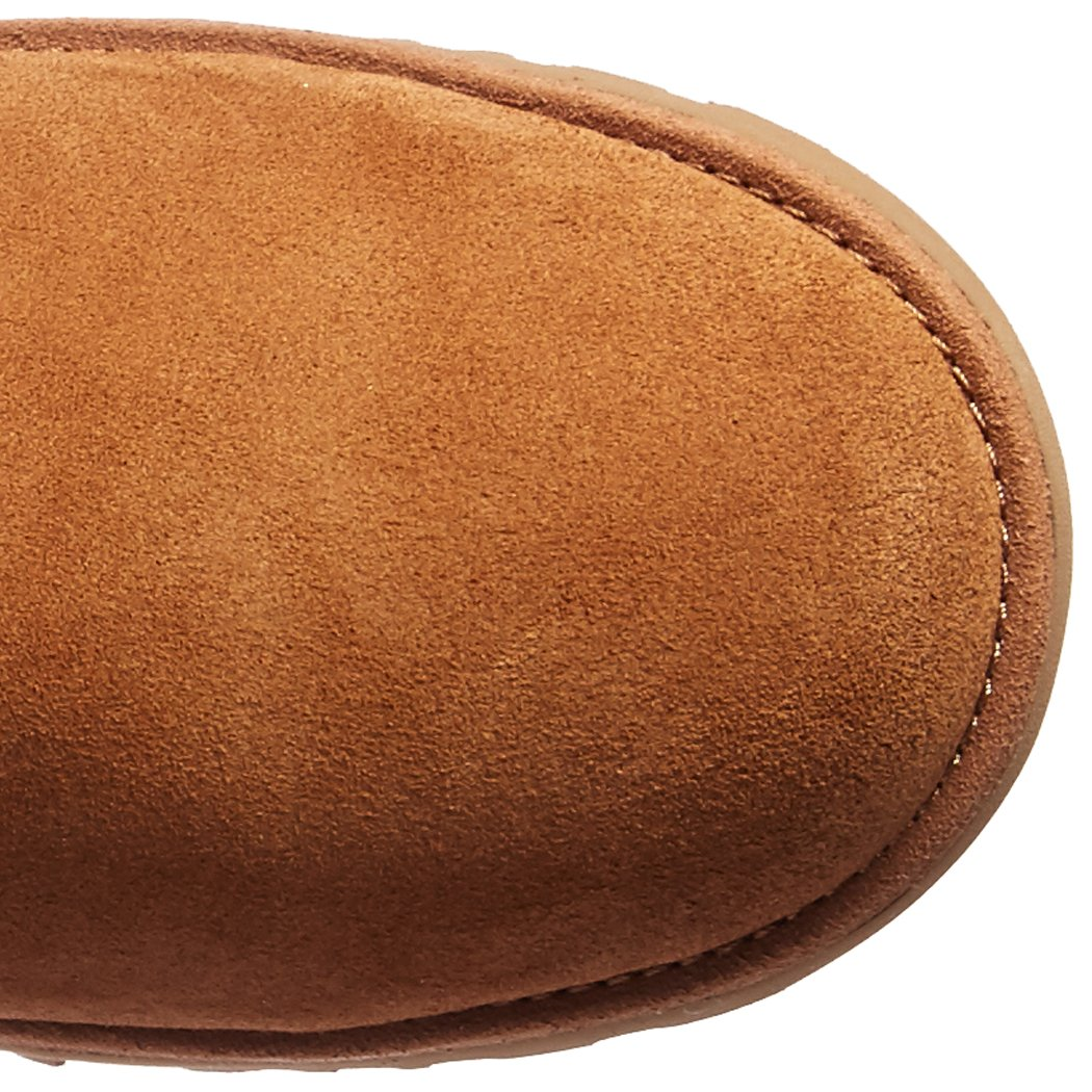Amazon.com | UGG Girls K Alexey II Pull-on Boot, Chestnut, 4 M US Big Kid | Boots