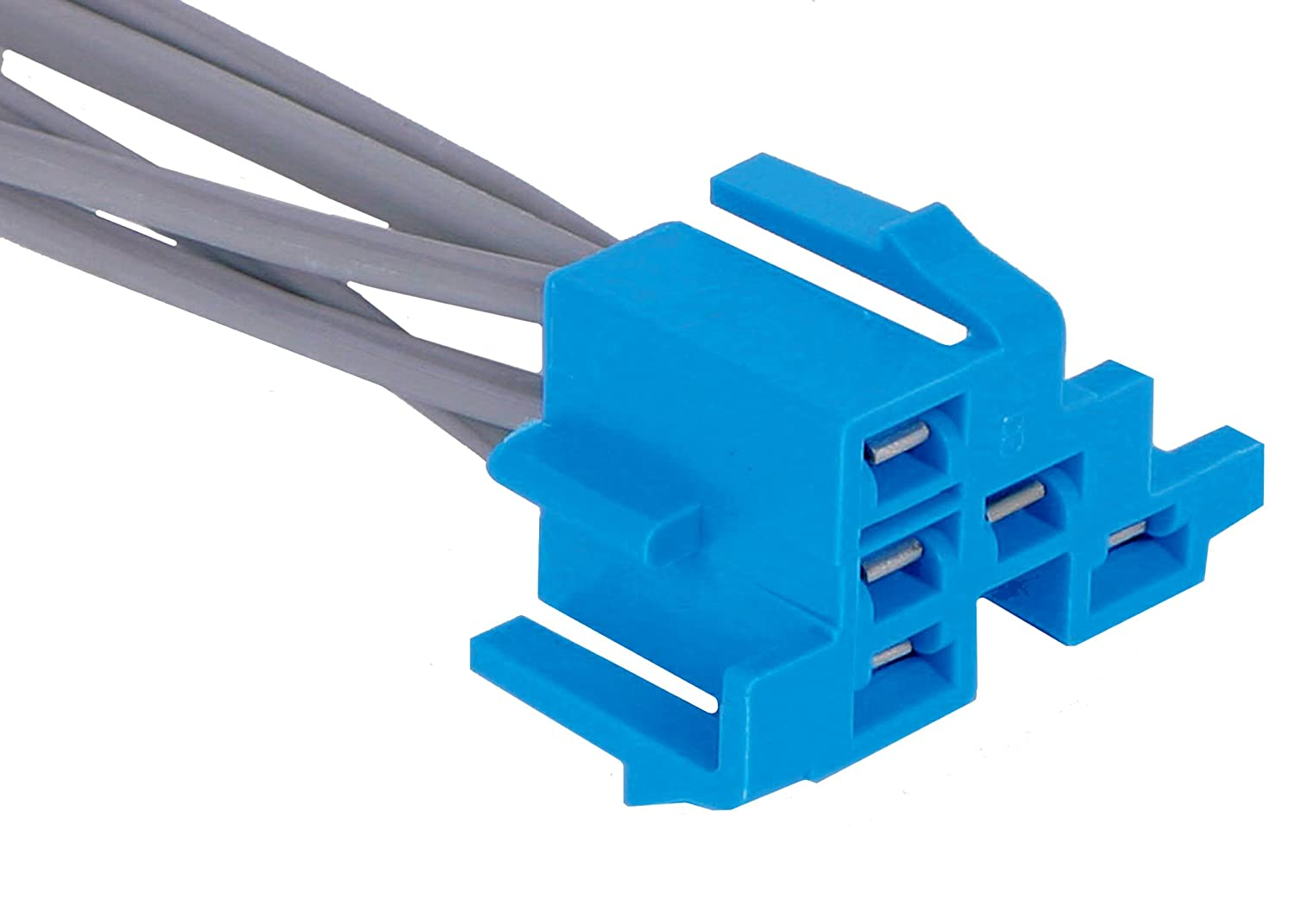 Acdelco Pt289 Gm Original Equipment 5 Way Female Blue Vehicle Wiring Pigtails Multi Purpose Pigtail Automotive