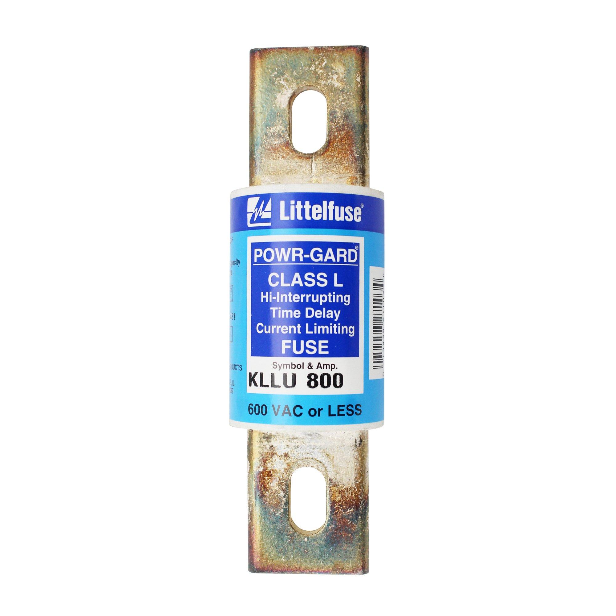 Littelfuse KLLU800.X UL Class-L Time-Delay Fuse