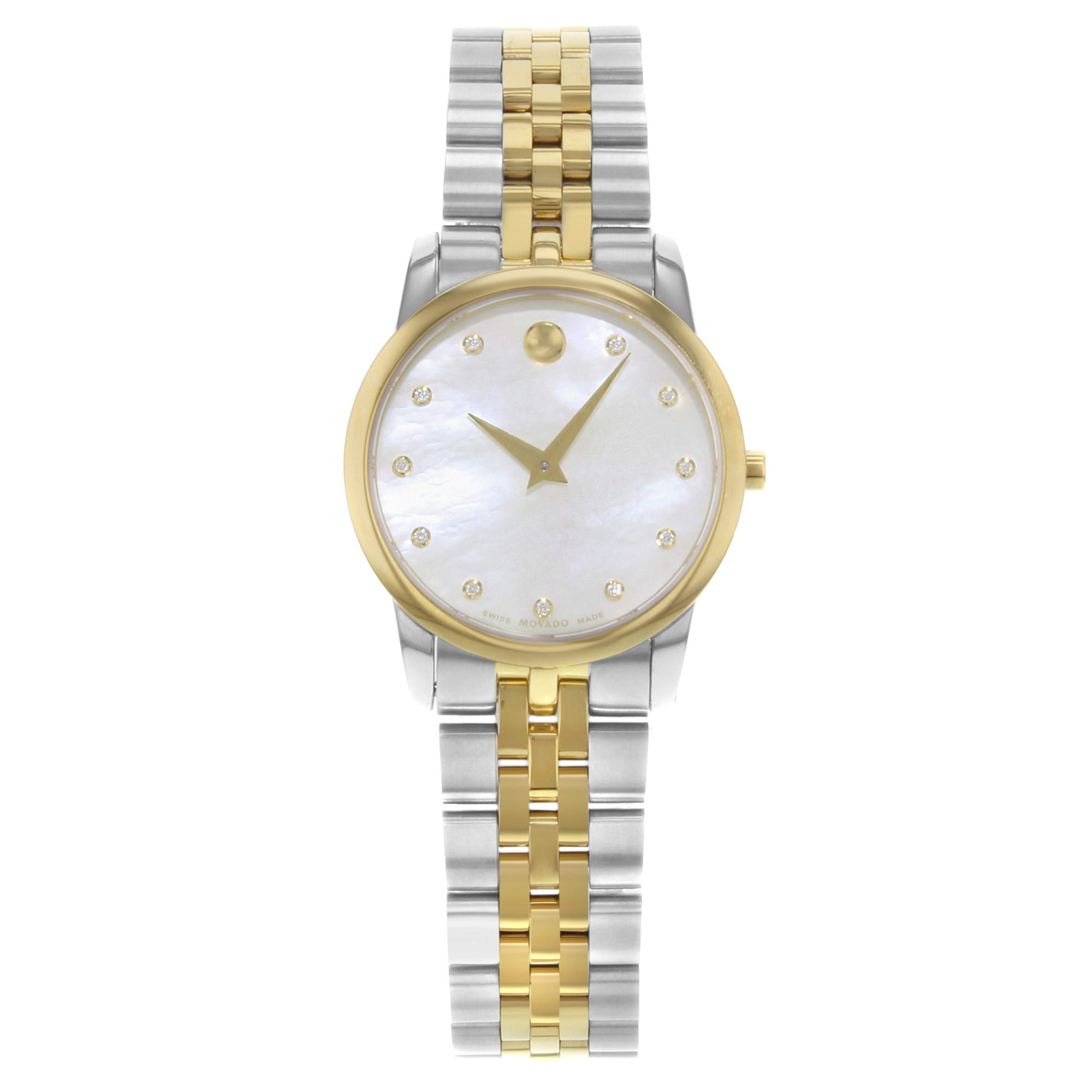 Movado Museum Quartz Female Watch 606900 (Certified Pre-Owned)