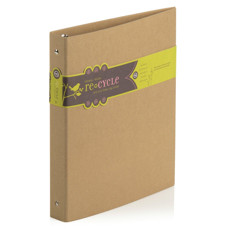 green school suppliess binder