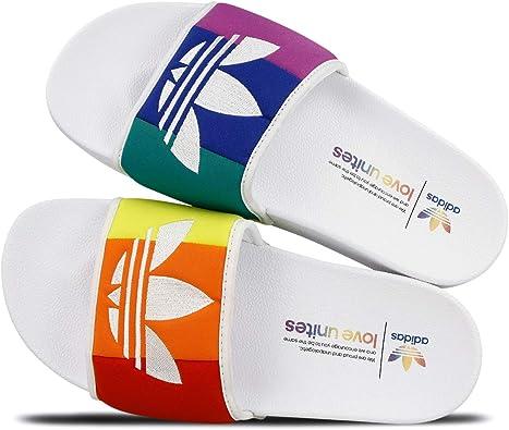 Amazon.com: Adidas Adilette Pride (4): Shoes