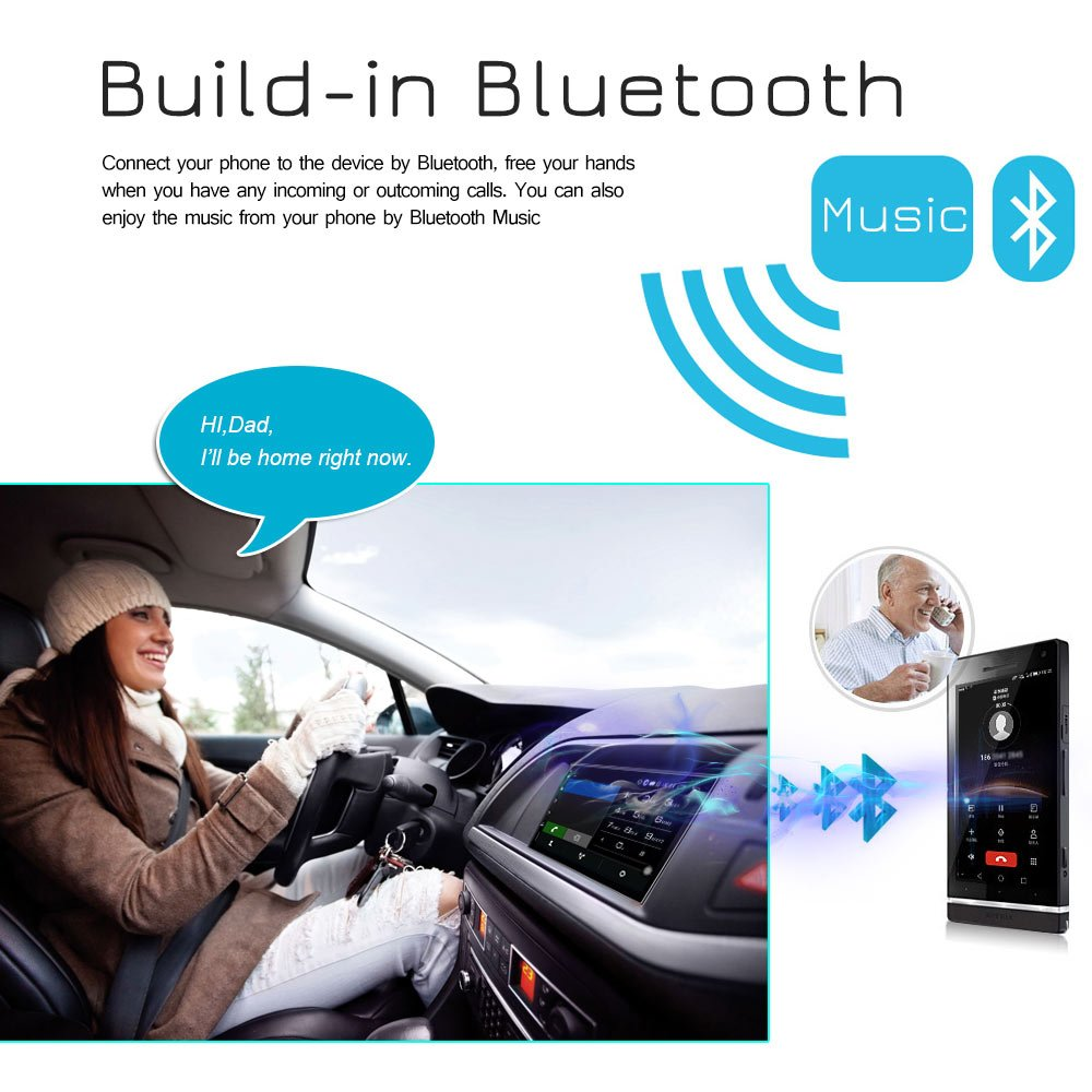 16G NAND Memory Flash Rhythm Electronics Limited RM-CT0098 Ezonetronics Android 6.0 Double Din Car Stereo with Navigation FM//AM Touch Screen Radio with Bluetooth GPS Navigation USB SD Mirro Link Player 1G DDR3