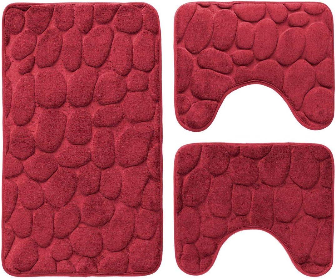tappeto da pavimento per zerbini Decorazioni per do coprisedile per WC Pantera nera morbida antiscivolo 3 pezzi con tappeti da bagno occhi azzurri Set tappeto da bagno lavabile tappetino contorno
