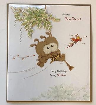 Amazon.com: Novio Cumpleaños, tarjeta de felicitaciones de ...