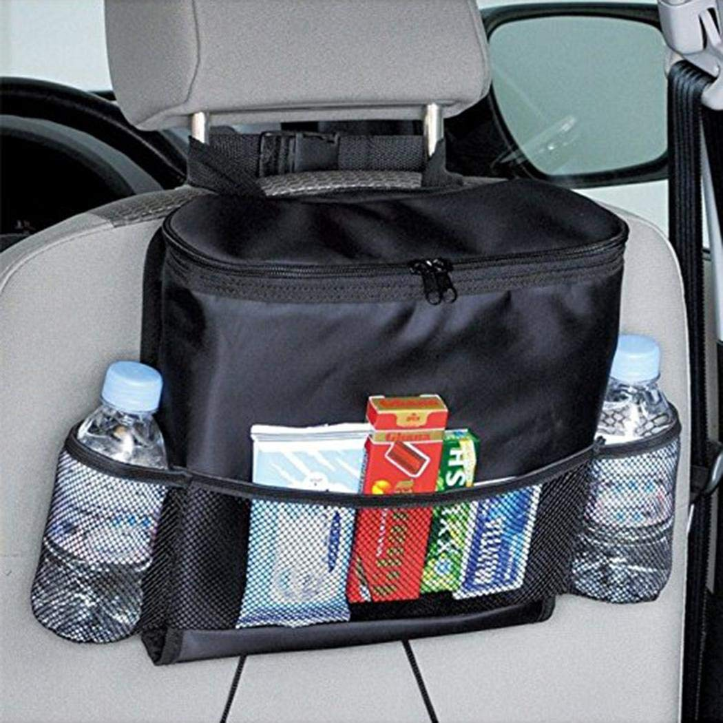 Sioneit Auto Car Back Seat Multi Pockets Storage Organizer Holder Insulation Bag Stowing /& Tidying