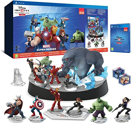 Disney Infinity 2.0 Collectors Edition Avengers Starter Pack ...