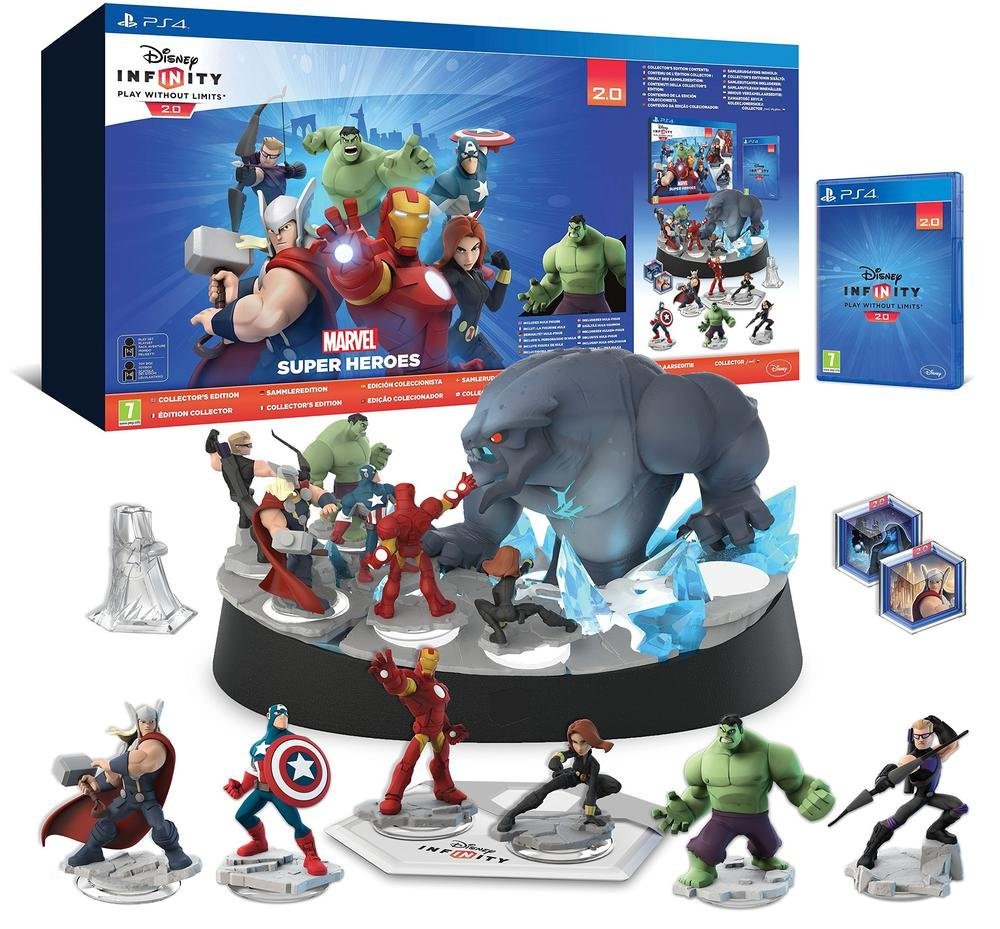 Disney Infinity 20 Collectors Edition Marvel Super Heroes Switch Lego 2 English Asia Games Avengers Starter Pack Ps4 Pc Video