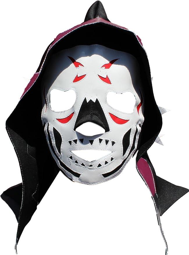 Amazon.com: Deportes Martinez LA Park Lycra Lucha Libre Luchador Wrestling Masks Adult Size Silver: Clothing