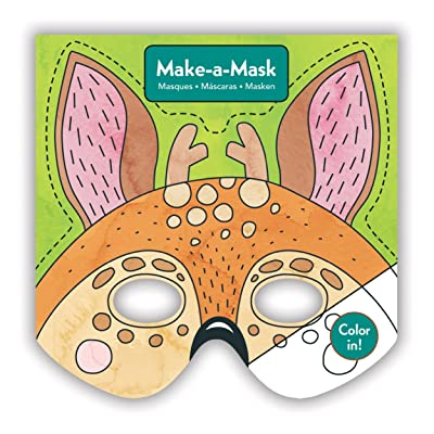 Mudpuppy Forest Animals Make-a-Mask: Mudpuppy, Befort, Oana: Toys & Games