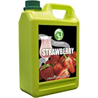 Possmei Flavored Syrup, Strawberry, 5.5 Pound