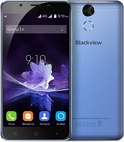 Blackview P2 4G Smartphone Libre (4GB RAM+64GB Rom con la Batería ...