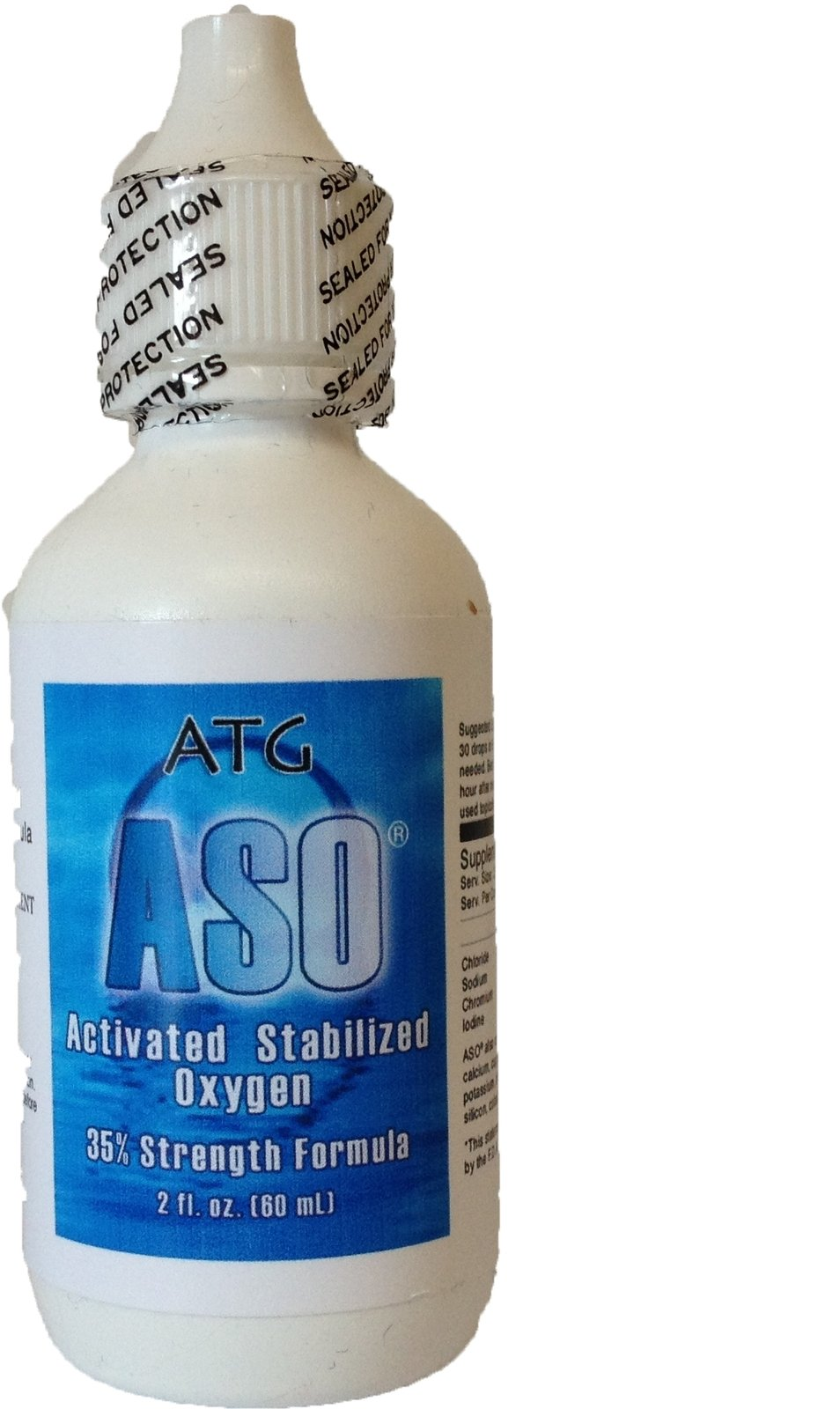 Aso 35% 350000Ppm Activated Stabilized Liquid Oxygen 2 Oz *New Technology* Bi.. 6