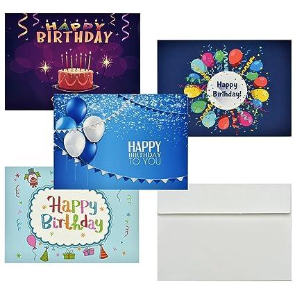 Tarjetas Regalo de Cumpleaños, 36 PCS Postales Tamaños ...