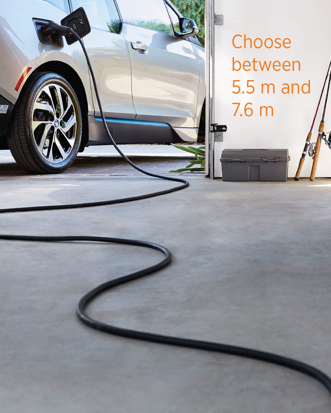 ChargePoint Home WiFi Enabled Electric Vehicle (EV) Charger - Level 2 240V EVSE, 32A Electric Car Charger for All EVs, UL Listed, ENERGY STAR Certified, Hardwired (no outlet needed), 18 Ft Cable by ChargePoint (Image #7)
