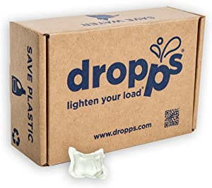 Dropps Stain & Odor Laundry Detergent Pacs (Clean Scent, 140)