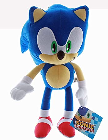 Amazon Com Super Sonic The Hedgehog Classic 11 5 Plush Toy Toys