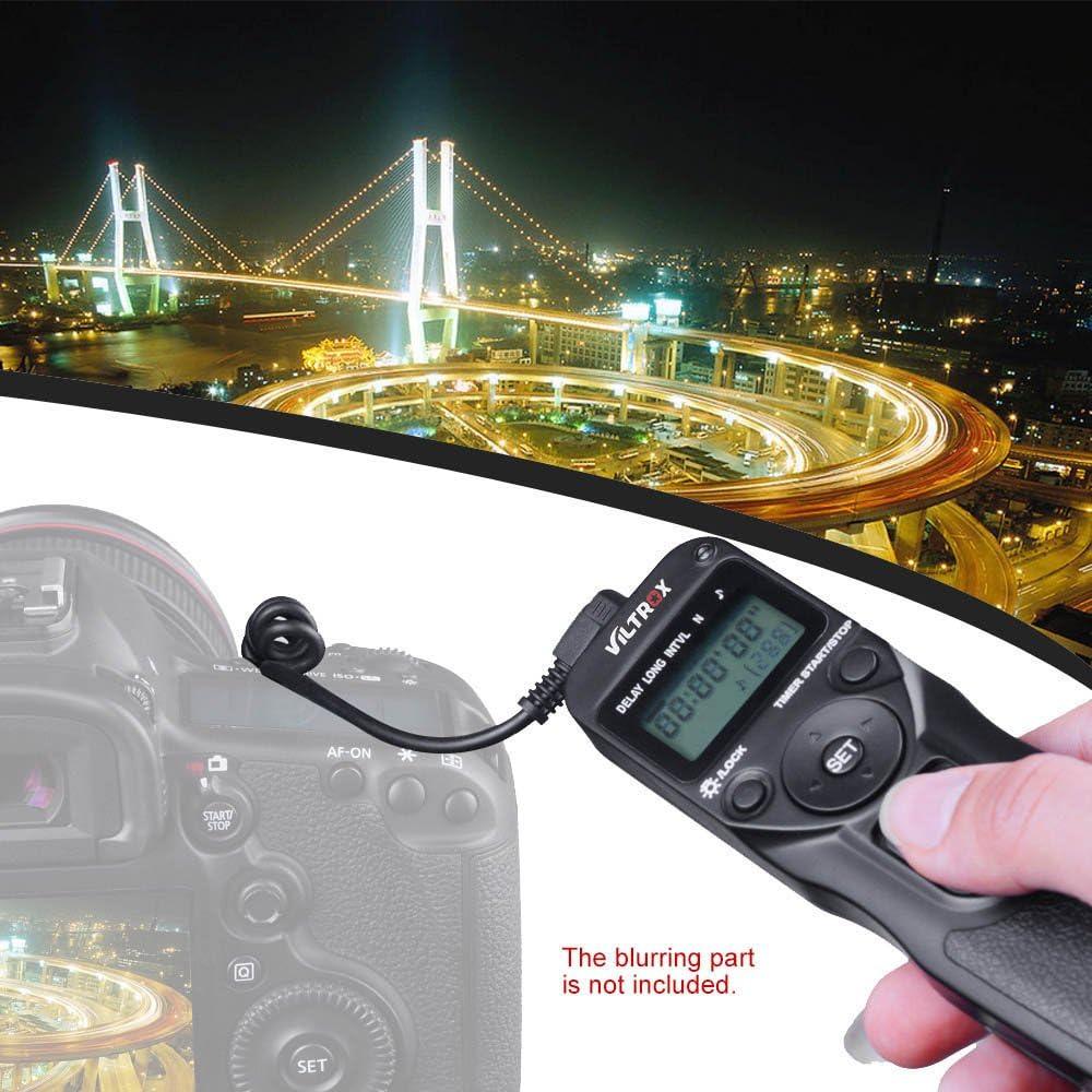 Viltrox Zeitraffer Intervalltimer Timer Fernauslöser Kamera