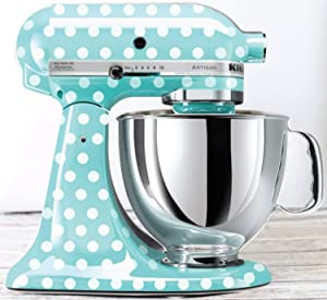 Polka Dot Kitchen Mixer Decals to be Used on Kitchen Aid Mixers Polka Dot Decals Polka Dot Stickers