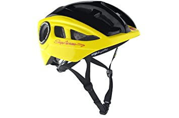 Urge Supacross - Casco de ciclismo amarillo amarillo y negro Talla:54-57 cm