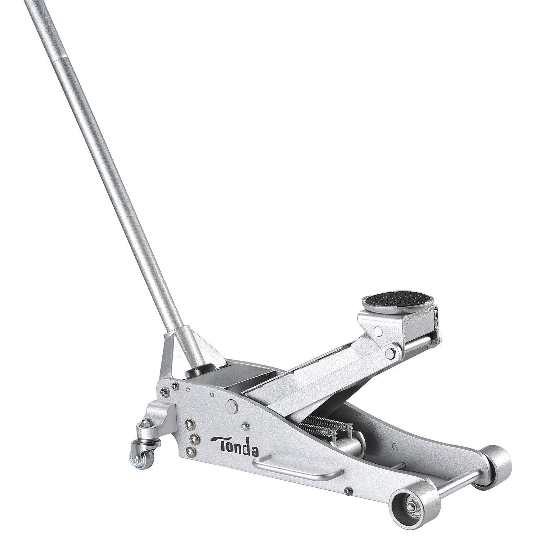 Tonda Aluminium 3T Trolley Floor Jack Low Profile, Rapid Pump and Quick Lift