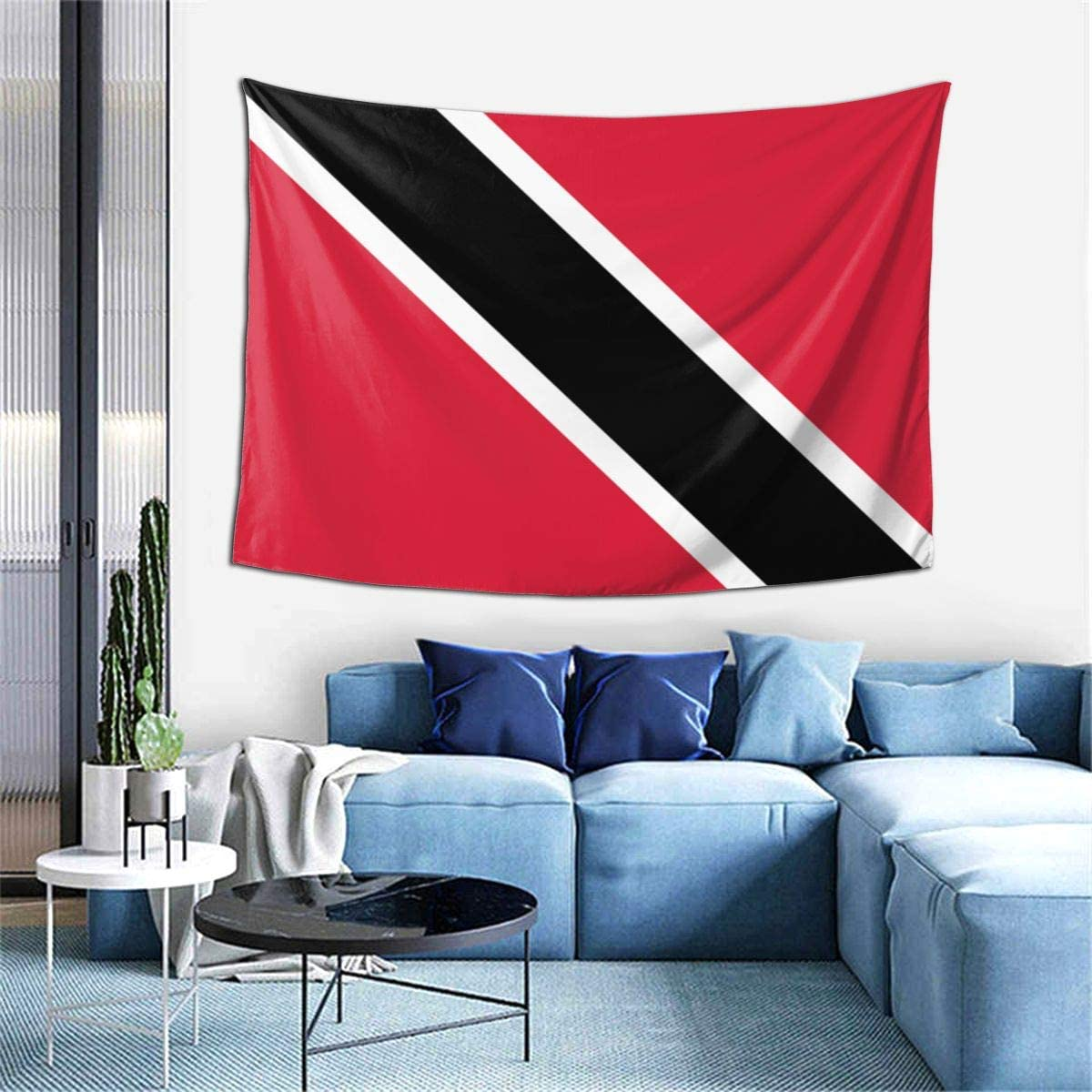 Hangyin Trinidad and Tobago Flag Tapestry Wall Tapestry Home Decor for Bedroom Living Room College Dorm