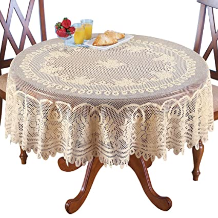 Tablecloths Table & Sofa Linens Proud Rose Light Coffee Lace Table Cloth Sofa Towel Table Cover Fashion Tea Table Cloth Wedding Supplies Red Cover Towel Various Styles