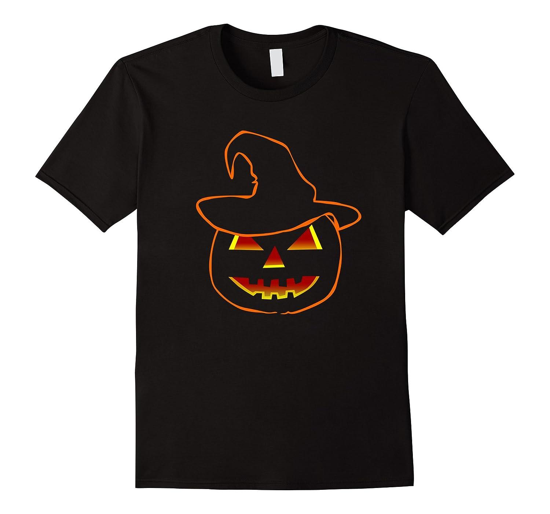 Funny Halloween Pumpkin Ghost Tshirt-RT