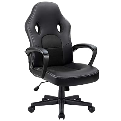 Furmax Office Desk Leather Gaming