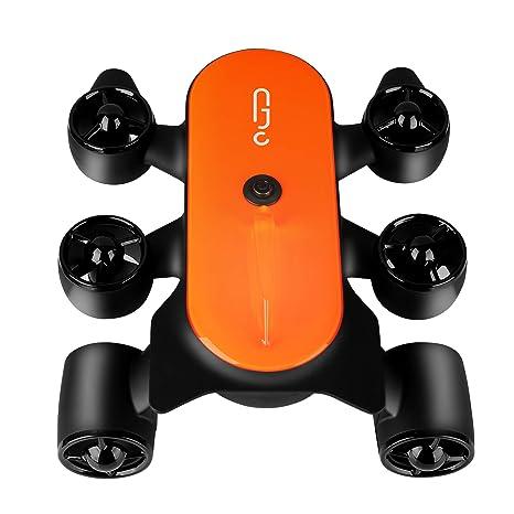 Geneinno Drone Submarino Con Rendimiento Potente Titan 150 Metros ...