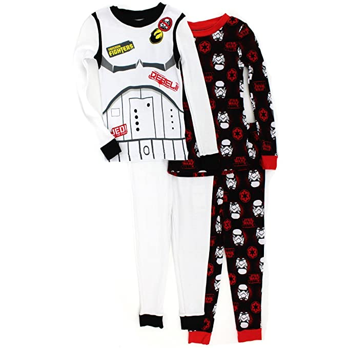 Pijamas de algod¨®n Star Wars Boys 4 pc (4)