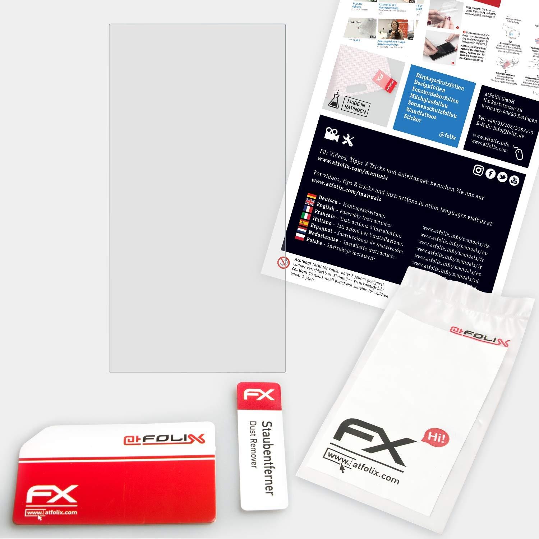 9H Hybrid-Glass FX Protector Pantalla Vidrio Templado de pl/ástico atFoliX L/ámina Protectora de pl/ástico Cristal Compatible con Pioneer XDP-100R Pel/ícula Vidrio
