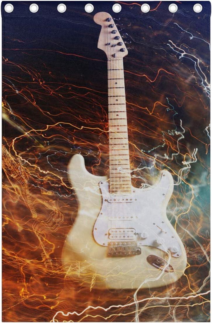 Plosds Jazz Rock Cool Guitarra eléctrica niño impresión una Sola ...