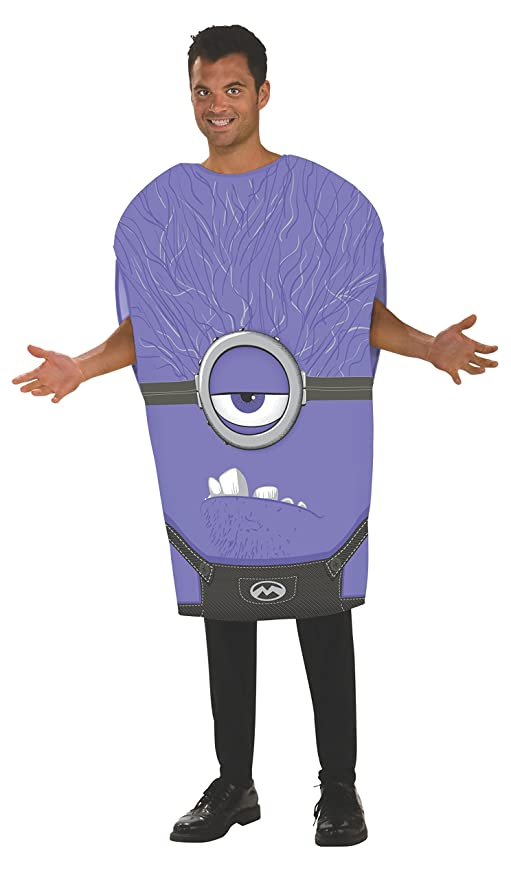 Amazon.com Rubieu0027s Menu0027s Despicable Me 2 Adult Purple Minion Multicolor Standard Clothing  sc 1 st  Amazon.com & Amazon.com: Rubieu0027s Menu0027s Despicable Me 2 Adult Purple Minion ...