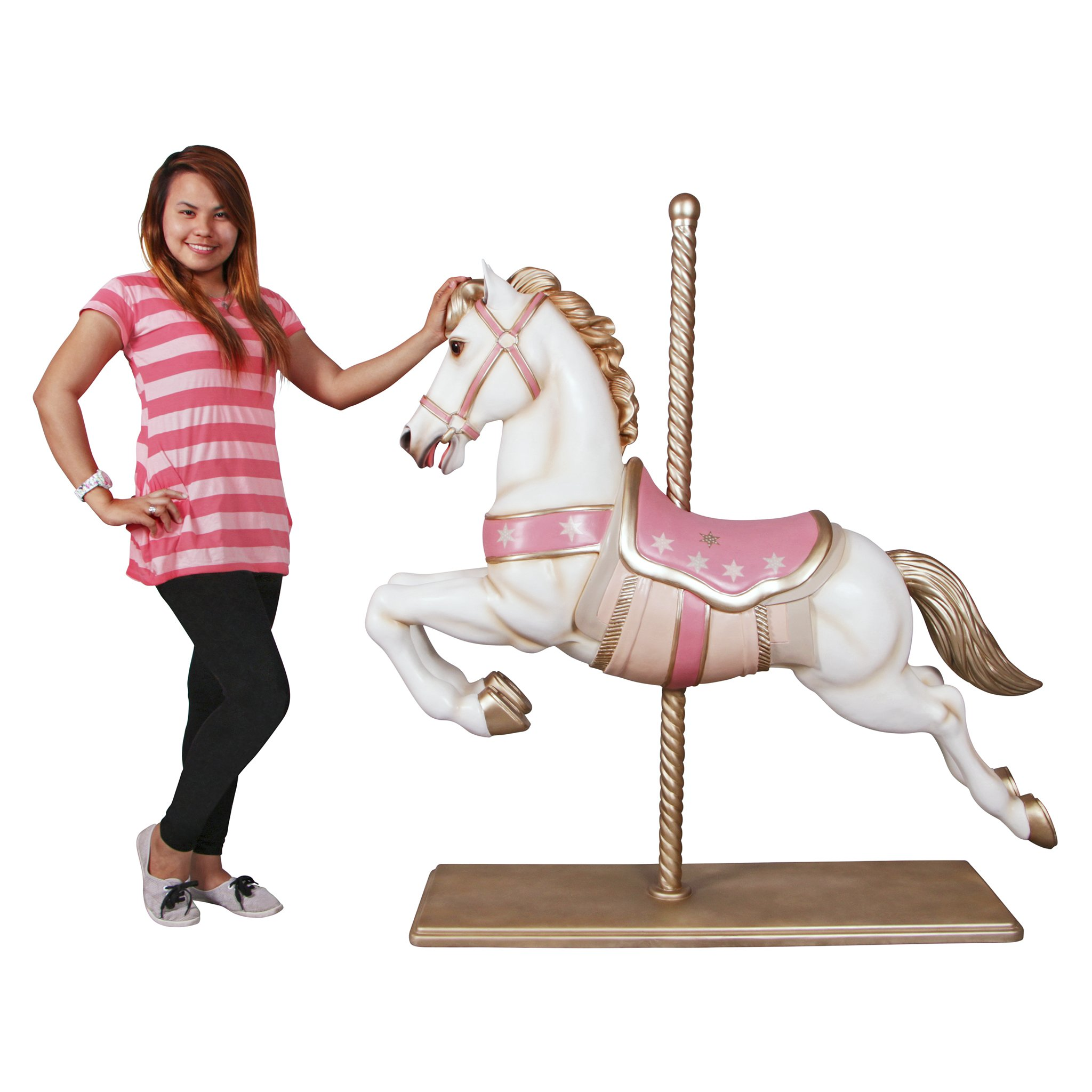Design Toscano Spirit The Full Sized Carousel Horse Statue Color by Design Toscano (Image #6)