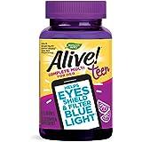 Nature's Way Alive! Teen Gummy Multivitamin for Her, Filters Blue Light, Citrus Burst Flavor
