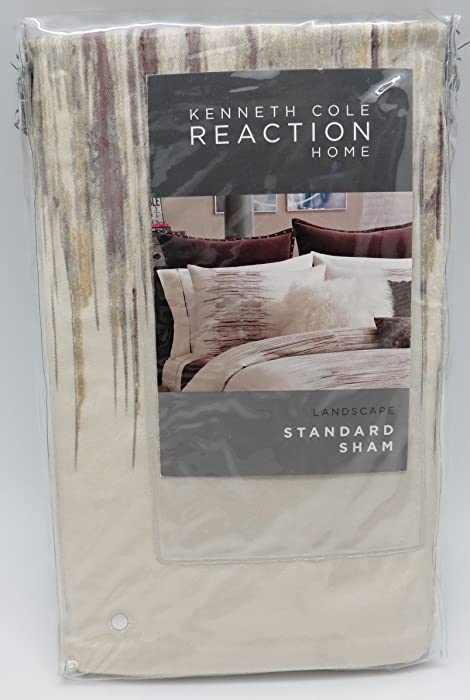 Kenneth Cole Reaction Home Standard Size Pillow Sham from the Landscape Collection
