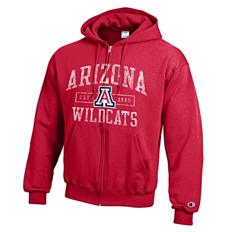 f6c1793a0a24 Champion NCAA Arizona Wildcats Men s Men s Full Coverage Zip Hoodie