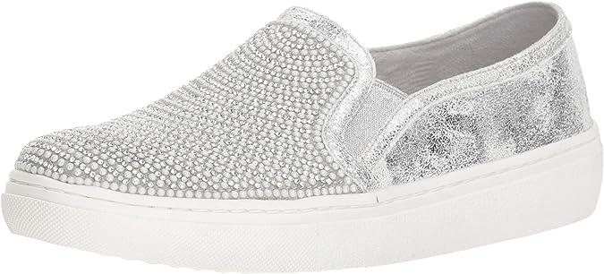 Pearl Embellished Slip on Sneaker