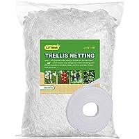 BaseGoal All-Weather Trellis Netting Mesh Plant Garden Vine Growing Flexible String Net (3.5″ Mesh, 5' x 15'-1Pack)